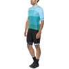 Red Cycling Products Colorblock Race Kleding set Heren groen/blauw